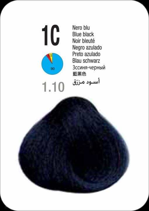 Coloração Colorly 2020 Itely 1C (1.1) - PRETO AZULADO 60G-267