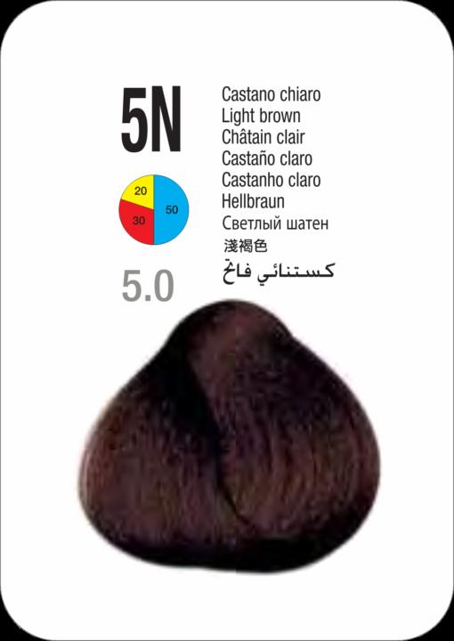 Coloração Colorly 2020 Itely 5N (5.0) - CASTANHO CLARO 60G-273