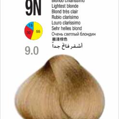 Coloração Colorly 2020 Itely 9N (9.0) -LOURO CLARISSIMO 60G-277